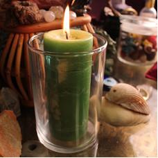Affirmation Glass Candle Holder